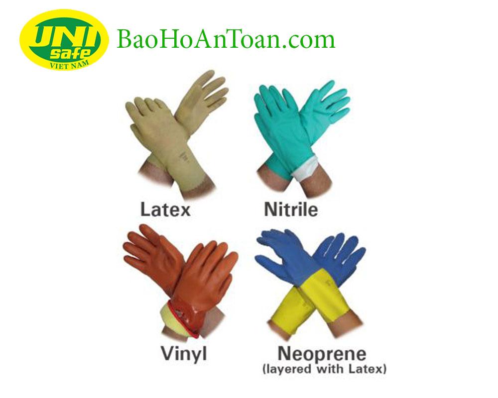 cách chọn găng tay bảo hộ lao động chống hóa chất