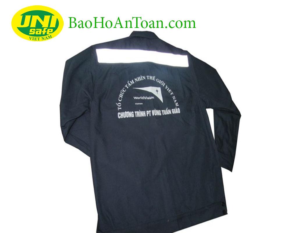 In logo trên áo bảo hộ lao động